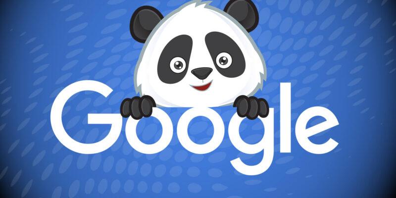 Google Panda testo in evidenza